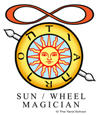 Sun, Wheel of Fortune, and Magician birth card
